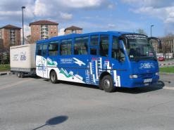 Il nostro autobus con rimorchio per il conseguimento della patente DE.